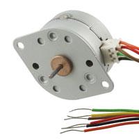 z.B. 20M Portescap Standard Unipolar Schrittmotor, 5V DC, 20 Schritte, 18° Schrittwinkel