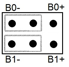 Jumper Position für den Systemstart.